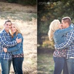Sammi + Tony: A Perfect Fall Afternoon for Oak Glen Engagement Pictures