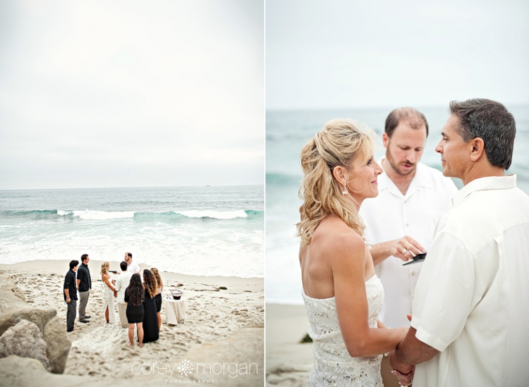 John And Tracy An Intimate Wedding Ceremony Windansea Beach La Jolla Photographer
