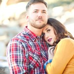 Tedi + Jeremy: A chilly Big Bear Engagement session