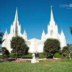 Kellie + Eric – San Diego Temple Wedding + La Jolla Adventures – San Diego Wedding Photographer
