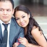 Crystal + Richard. Downtown + Pasadena City Hall. Pasadena Wedding Photographers.