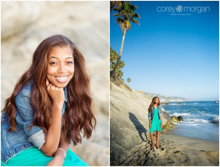 Cal State Fullerton Gradation Pictures Laguna Beach Senior Portraits