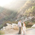 Mountain Engagement Session. Melissa + Chris. Pasadena Engagement Photographer