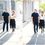 Downtown Los Angeles Engagement Pictures. Morgan + Chris. Los Angeles Wedding Photographers