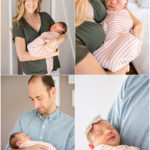 In Home Newborn Session. Los Angeles Newborn Photography